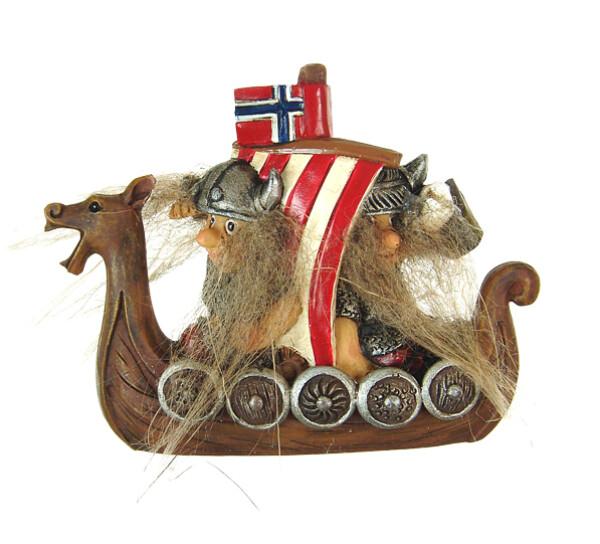 Image of Magnet, Vikings on boat
