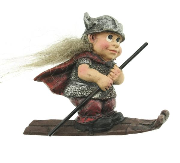 Image of Magnet, skiing viking