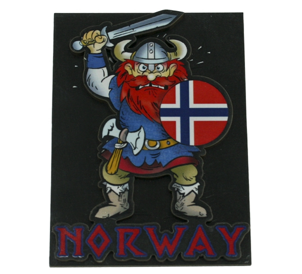 Image of Magnet, angry viking