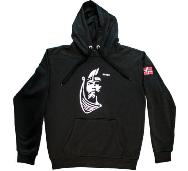Image of Hoodie black, Viking