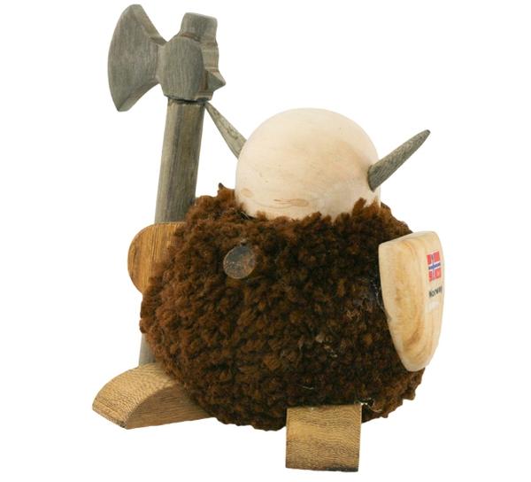 Image of Pompom viking, brown