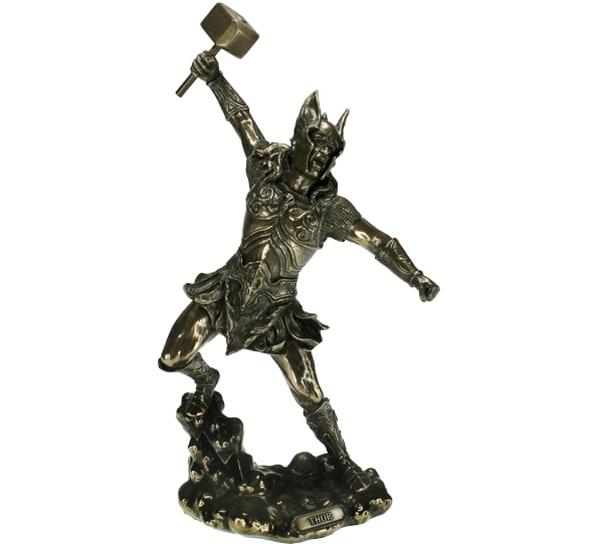 Image of Viking with hammer, 'Thor',