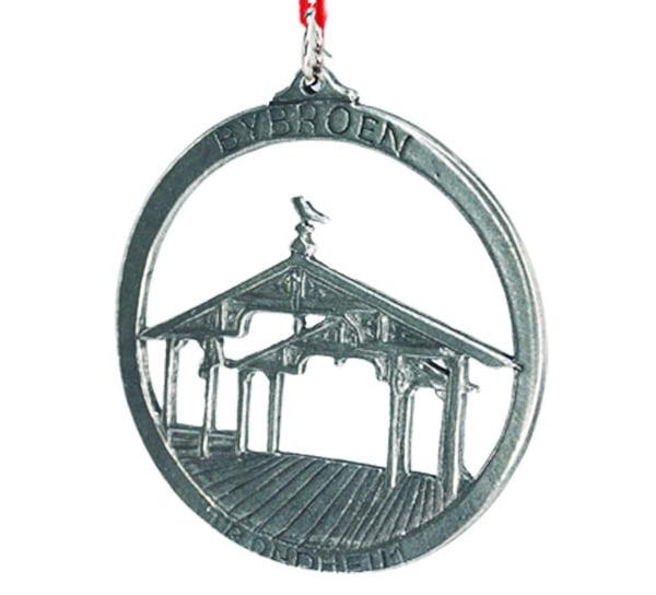 Image of Ornament, 'Bybroen' Trondheim Tinn-Per