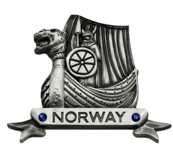Image of Magnet, Vikingship, silver