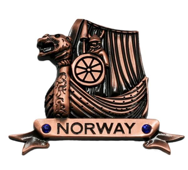 Image of Magnet, Vikingship, copper