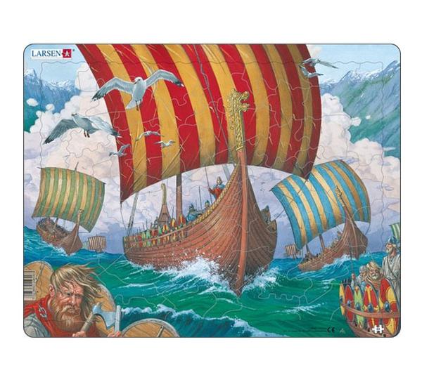 Image of Puzzle, Vikingboat Ormen Lange