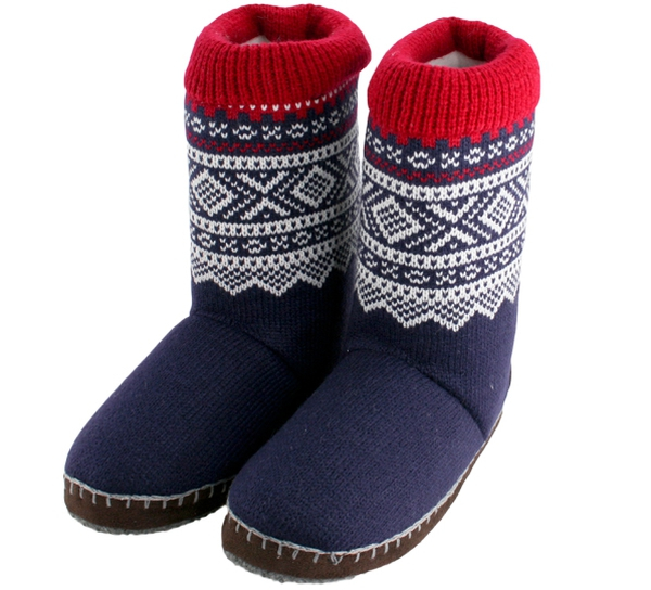 Image of Slippers with Marius ® pattern,  Blue