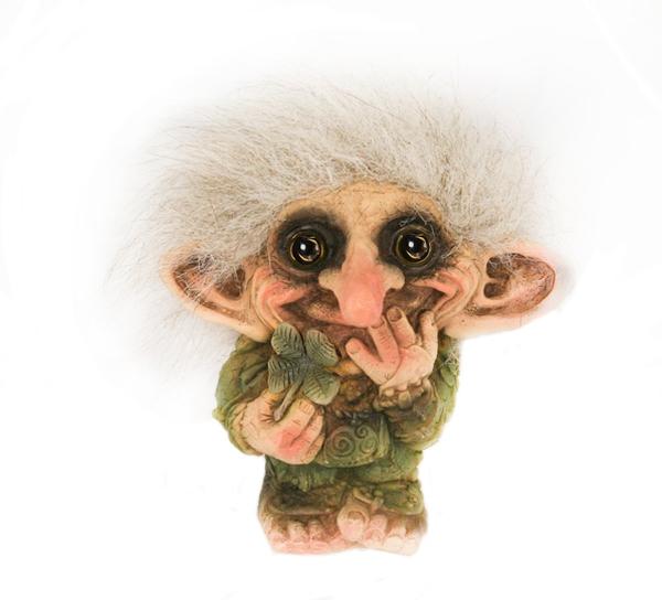 Image of Four-leaf clover troll (Troll # 012)