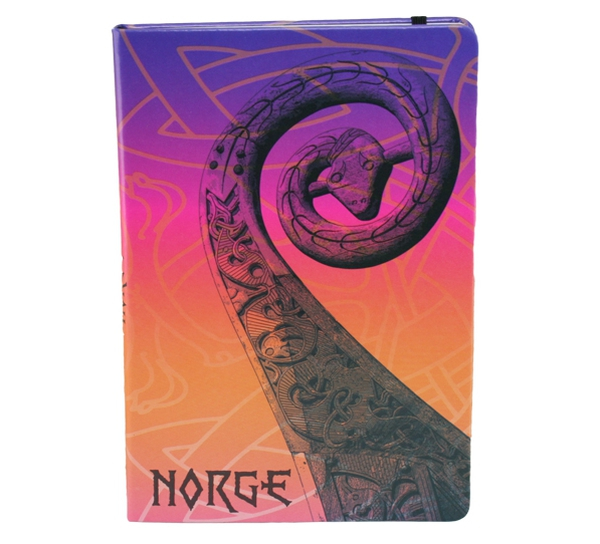 Image of Notebook A5, Oseberg in colors