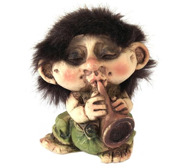 Image of Troll w/horn (Troll # 038)