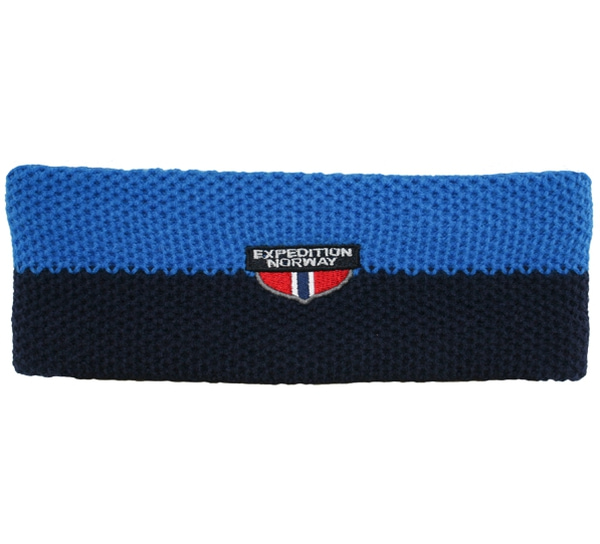 Image of Headband, knitted, Expedition Norway dark