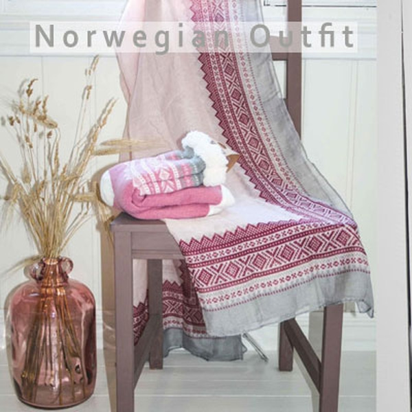 Clothes with norwegian design