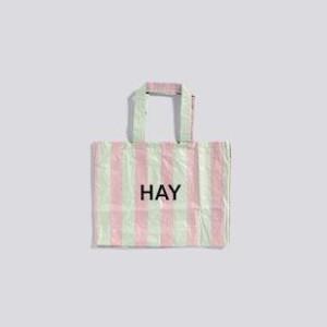 Bilde av Hay - Candy Stripe Shopper - Green/Red - M