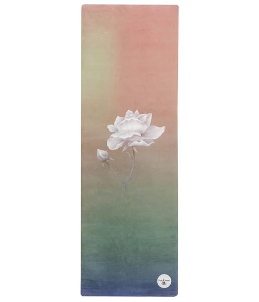 Bilde av Yogamatte naturgummi - Flower
