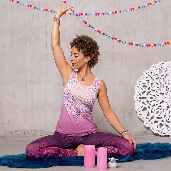 Bilde av Bakti Yoga Top Ametyst