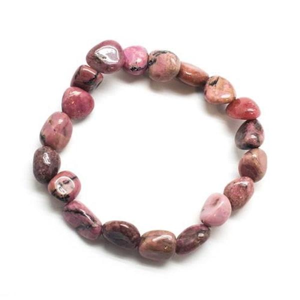 Bilde av Rhodonitt Pebbles Armbånd