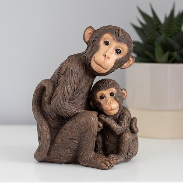Bilde av Ape Familie - Mor og Baby