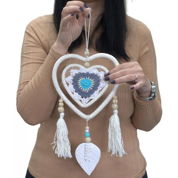 Bilde av Drømmefanger Blue Heart in