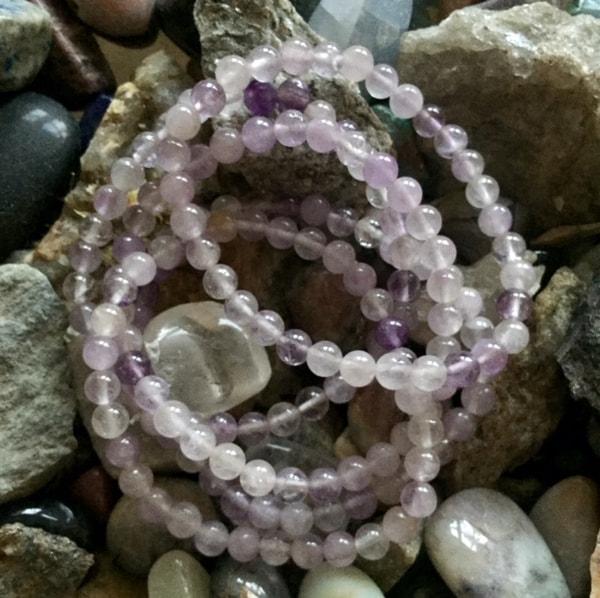 Bilde av Lavendel Kvarts 6mm Armbånd