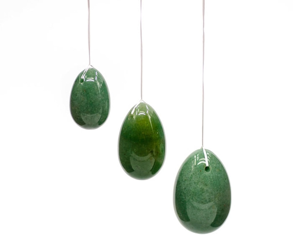 Bilde av Yoni Egg Grønn Aventurin -
