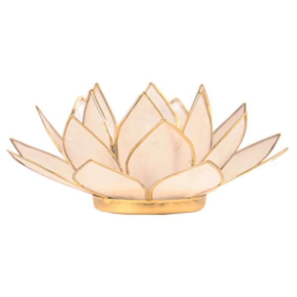 Bilde av Lotus Telysholder Perle