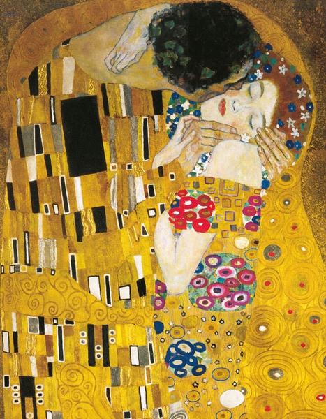 Bilde av Gustav Klimt The Kiss