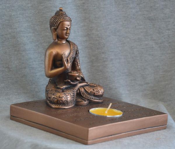 Bilde av Buddha Med Lys