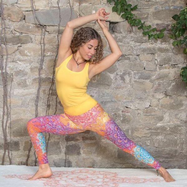 Bilde av Yoga Leggings Regnbue
