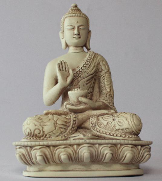 Bilde av Ingen Frykt Buddha 13cm