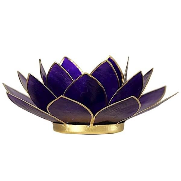 Bilde av Lotus Telysholder Violet