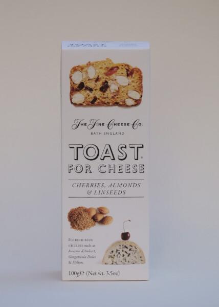 Fine cheese toast m/ kirsebær