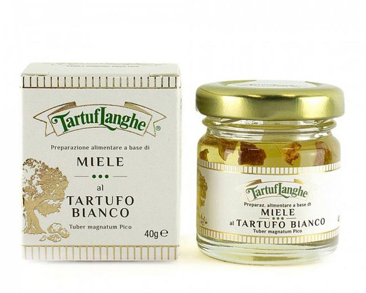 Akasie honning med hvit trøffel