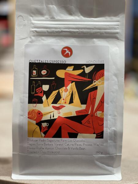 Quetzales Espresso Honduras