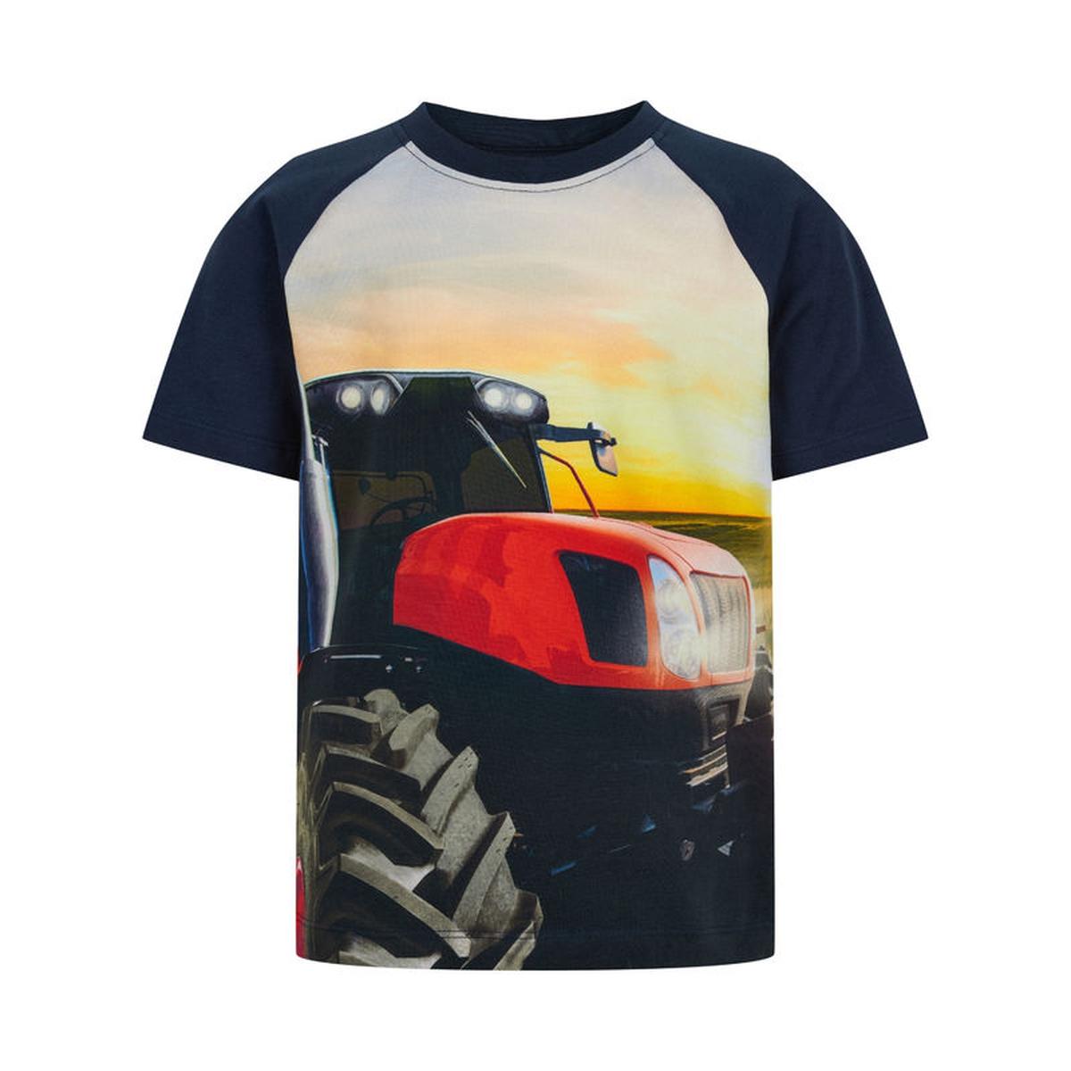 MinyMo - T-skjorte Traktor Navy Night