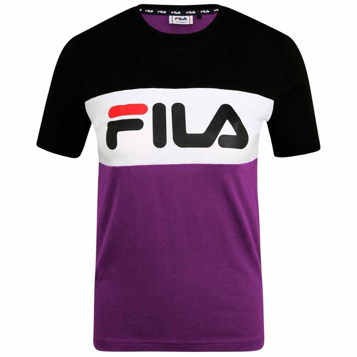 Fila - T-skjorte Teens Unisex Marina Lilla