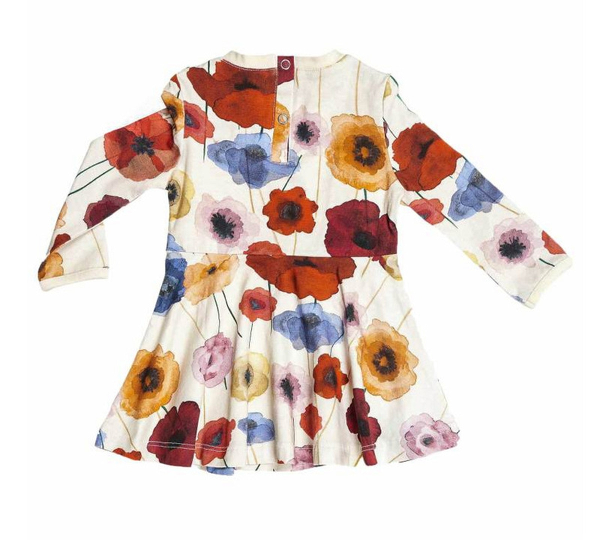 Ebbe - Kjole Polly Watercolour Poppy