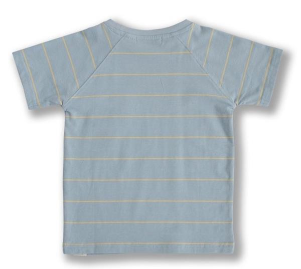 Bilde av Ebbe - T-skjorte Norton Cloud Blue/Cantaloupe