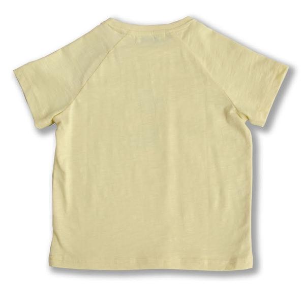 Bilde av Ebbe - T-skjorte Hector Pale Yellow