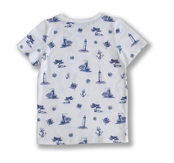 Bilde av Ebbe - T-skjorte Elliot Ship Print