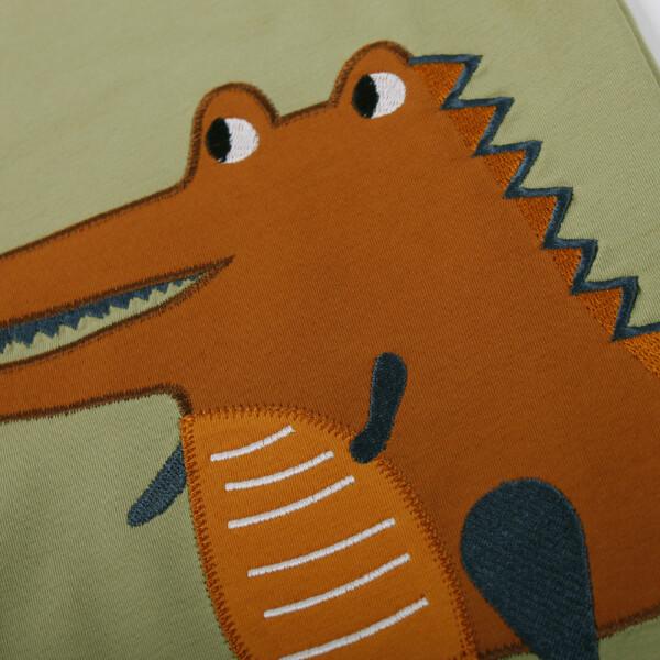 Bilde av Fred's World - T-skjorte Krokodille Dus Grønn