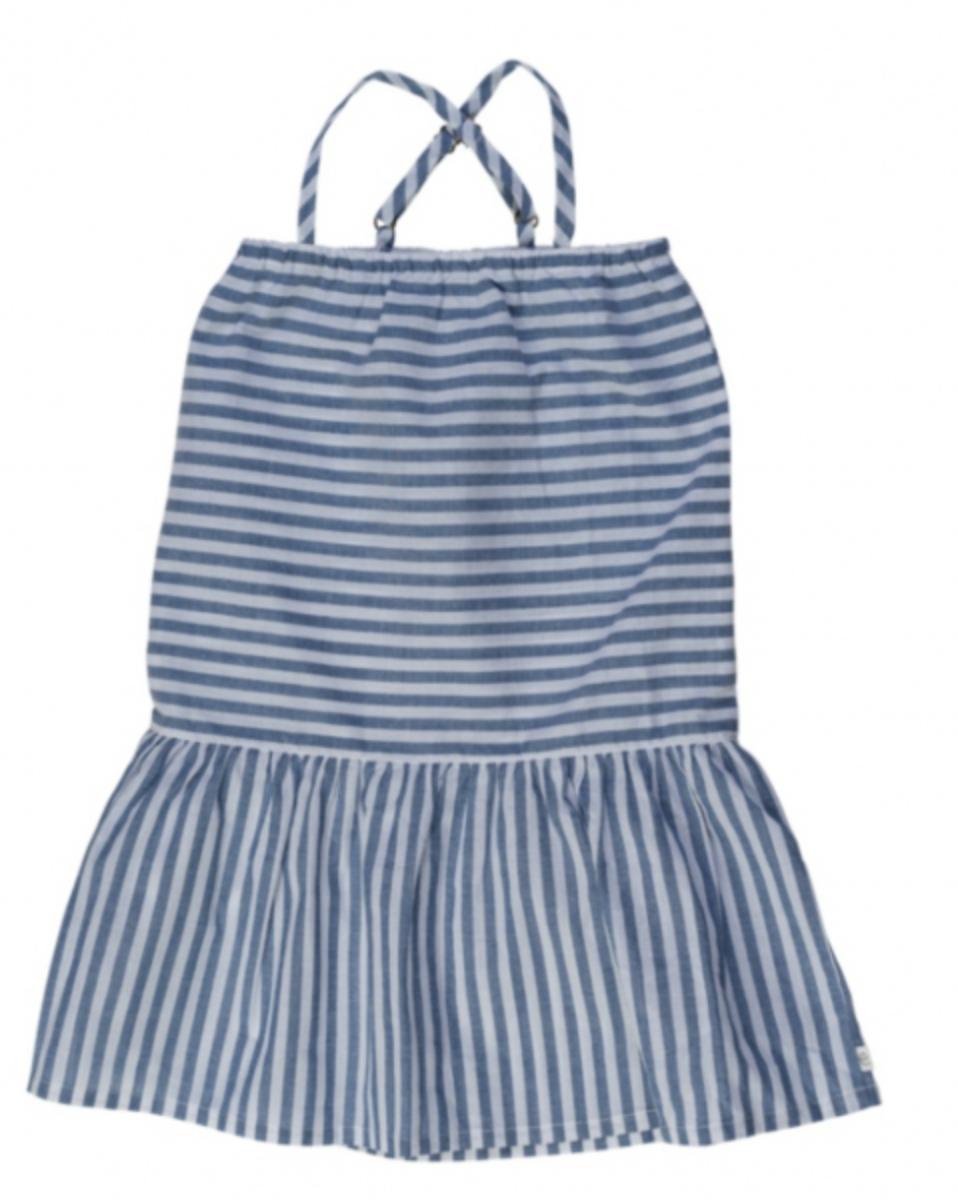 Ebbe - Kjole Femmis Navy Stripes