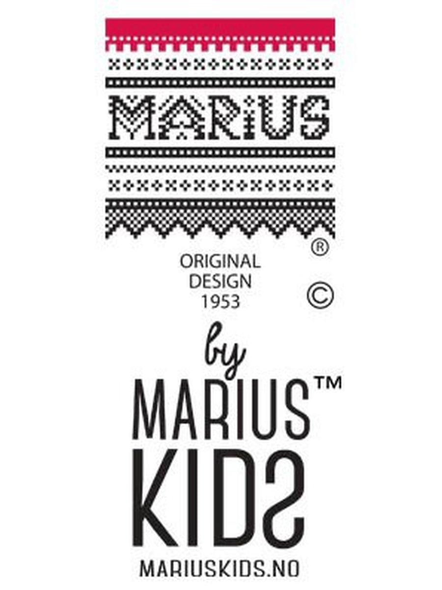 MARIUS KIDS- MARIUS HELDRESS I BAMBUS RØD