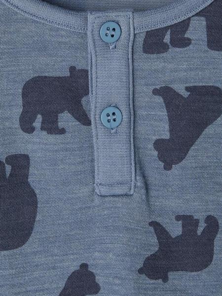 Bilde av NAME IT - GENSER I ULL WUPPO CHINA BLUE