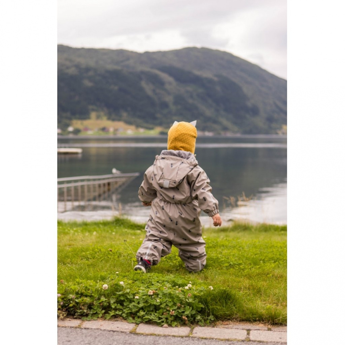 KATTNAKKEN - REGNDRESS BABY INSEKT MULDVARP