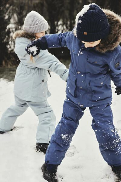 Bilde av NAME IT - VINTERJAKKE SNOW10 DARK DENIM