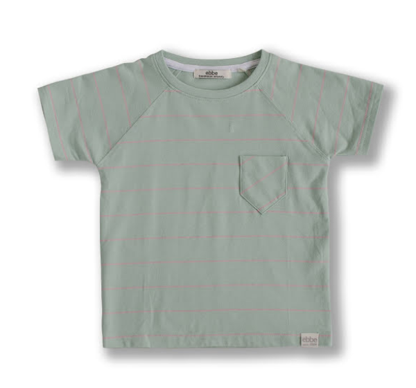 Bilde av Ebbe - T-skjorte Norton Mint/Bubble Pink
