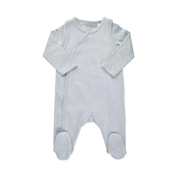 Bilde av Fixoni - Sett, Body & Sparkebukse Baby Blue