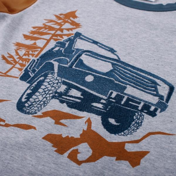 Bilde av Fred's World - T-skjorte Safari Mørkeblå