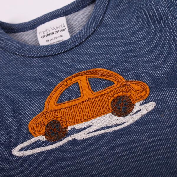 Bilde av Fred's World - T-skjorte Bil Mørkeblå