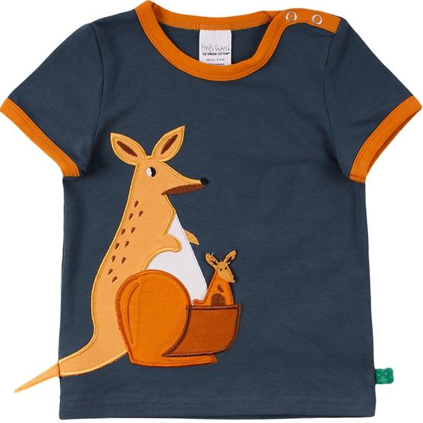 Bilde av Fred's World - T-skjorte Baby Kenguru Mørkeblå